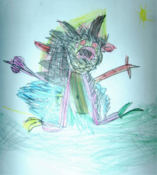 'Mr Fuzz' created by Ella-Mai