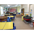 Area between the two classroom