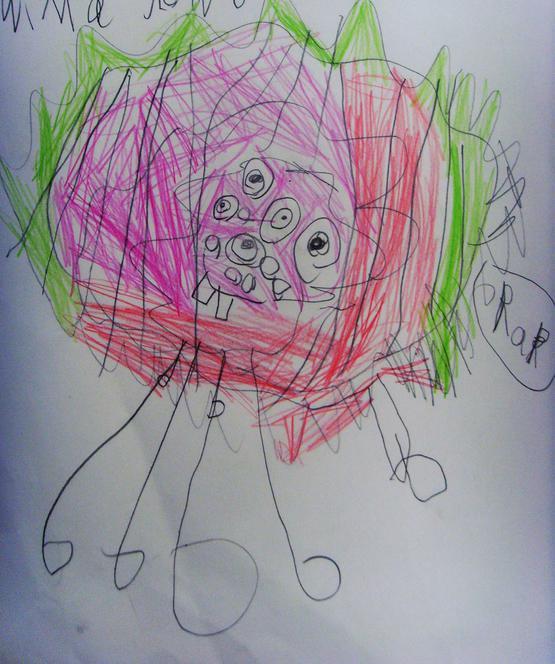 'Swima Glow Boo' created by Abigail