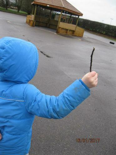 It's a fire sword!