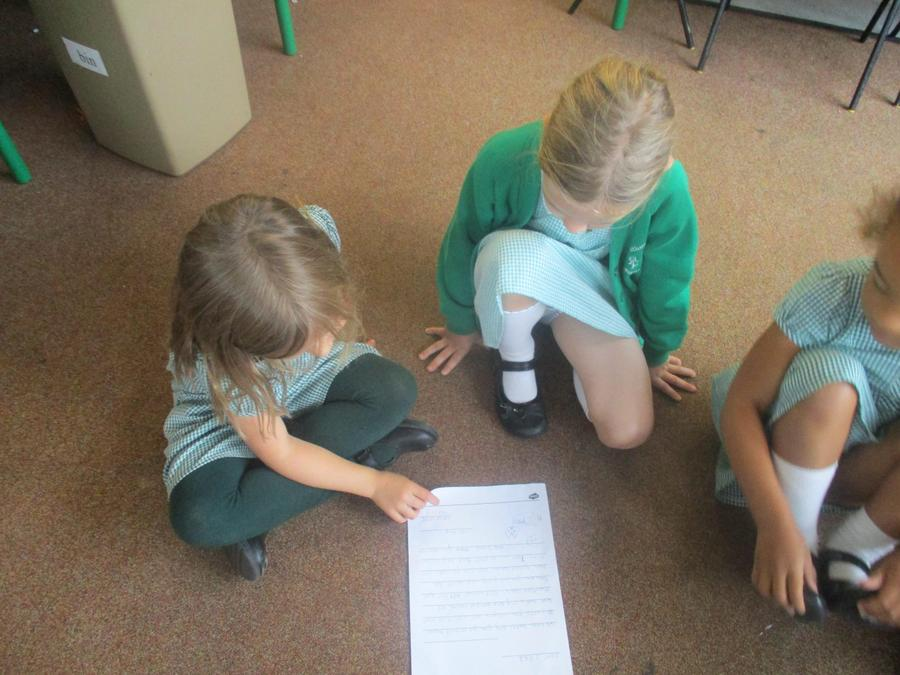 Hazel class wrote us letters to explain all