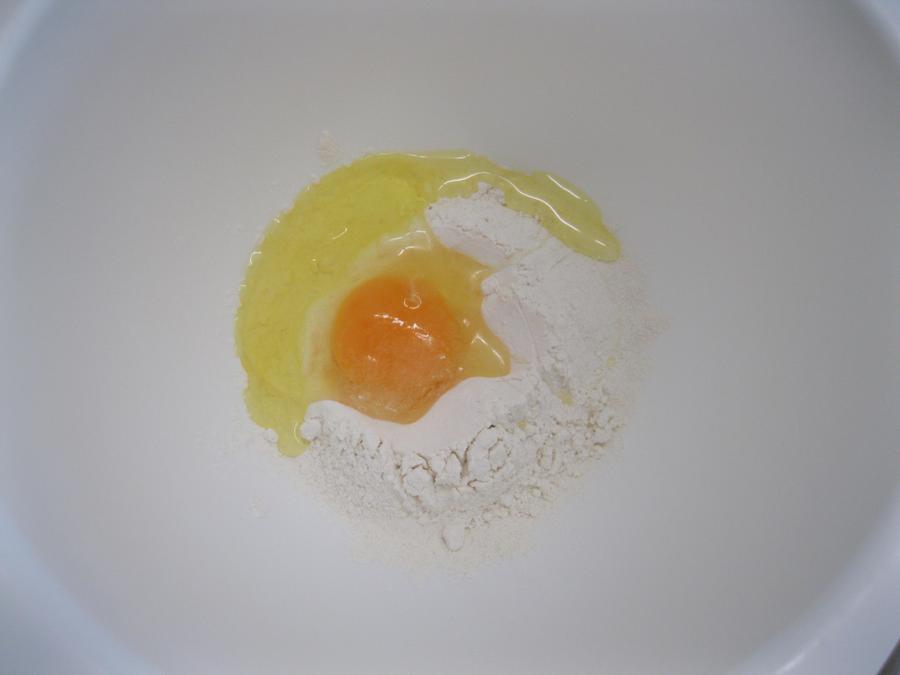 Add an egg.