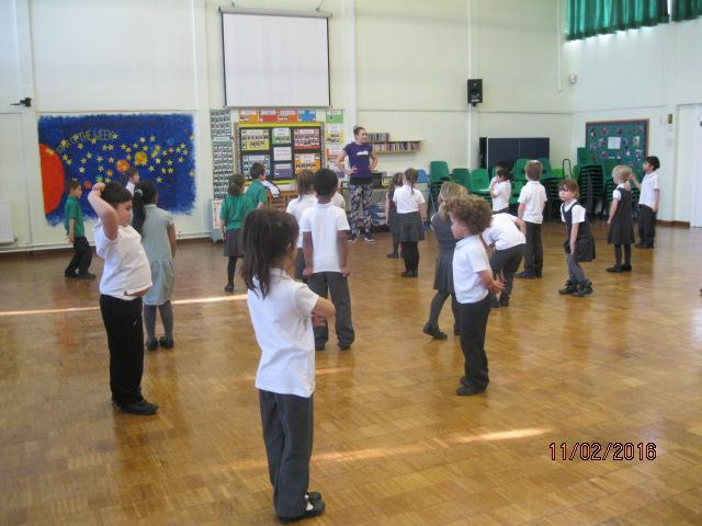 Street dance with Kayleigh