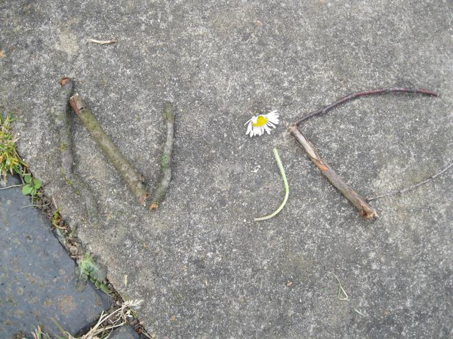 We made our names using natural materials.