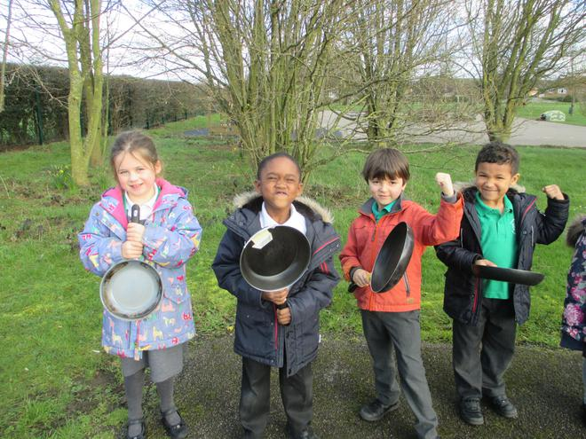 The Rowan class pancake finalists