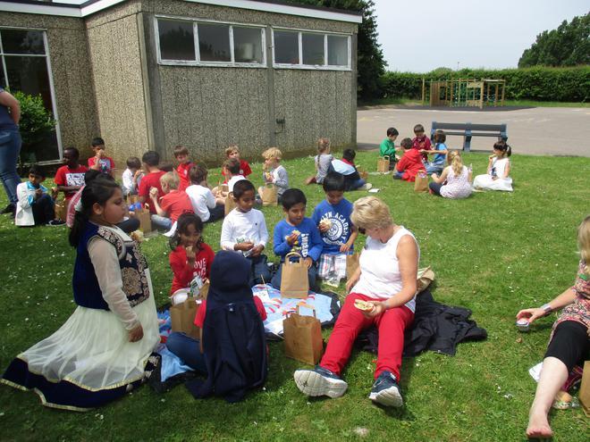 whole school picnic