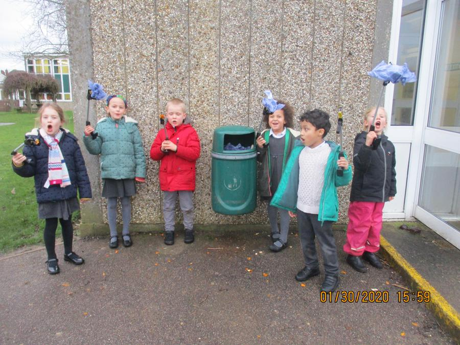 Our first litter pick of 2020