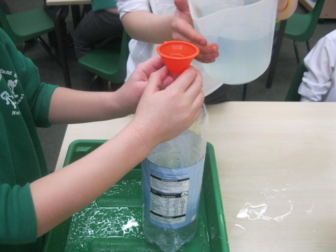 We investigated what held more than a litre.