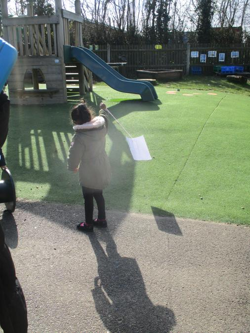 It was very windy on Thursday.