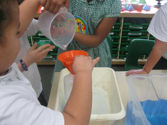 We investigated what held less than a litre.