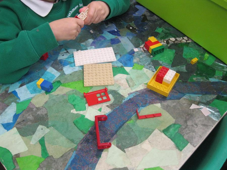 using Lego to make a vehicle