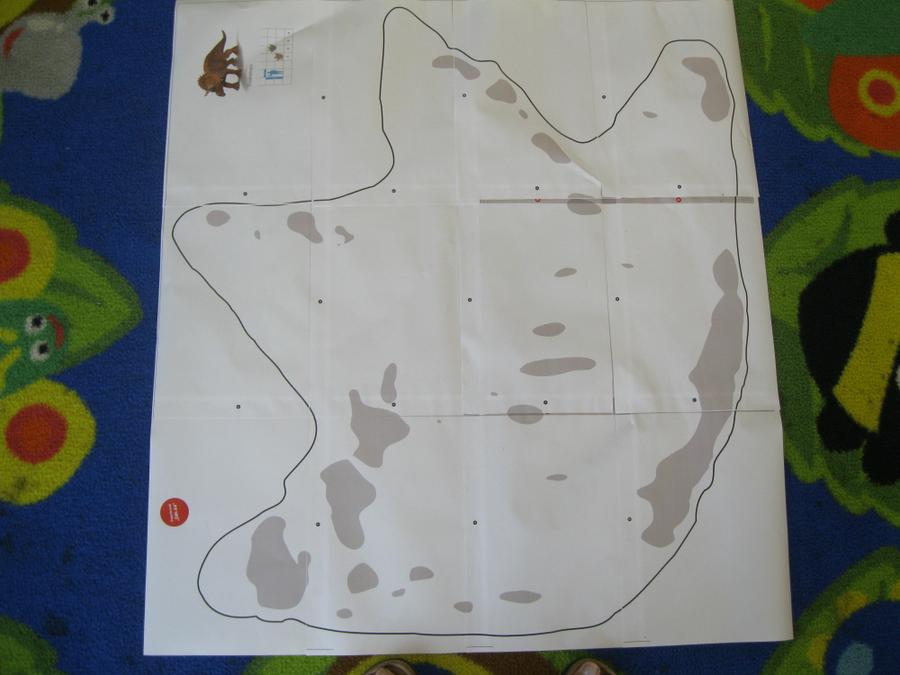 then we put shoes inside the outline...