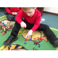 We have been practicing counting