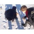 We noticed lots of footprints