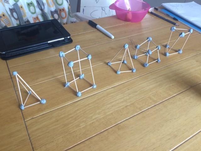 Toby's 3D shapes