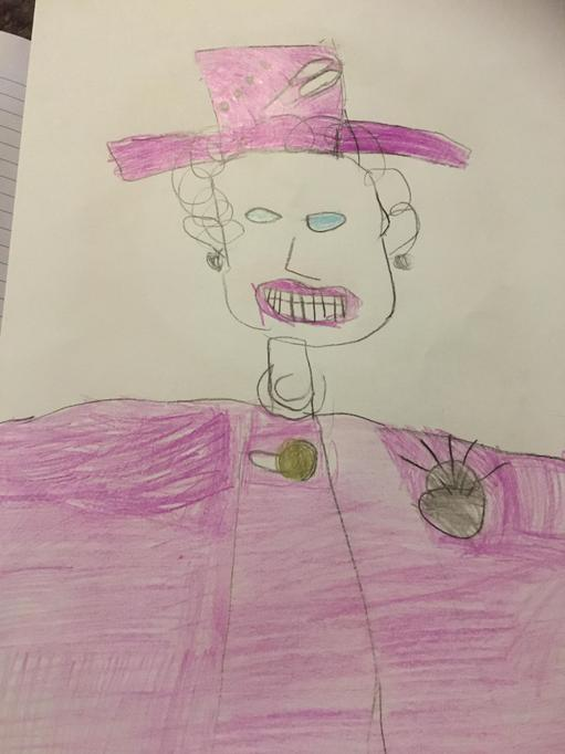 Grace's portrait of Queen Elizabeth