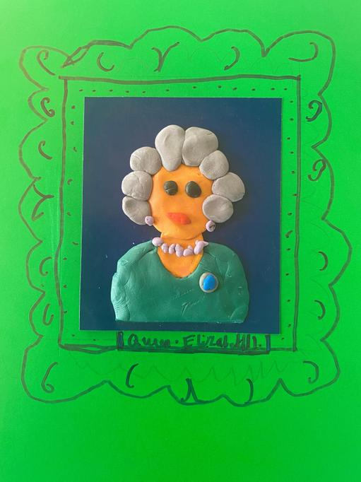 Harley's portrait of Queen Elizabeth II