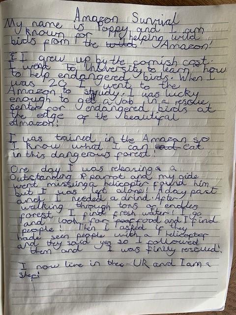 Poppy's autobiography
