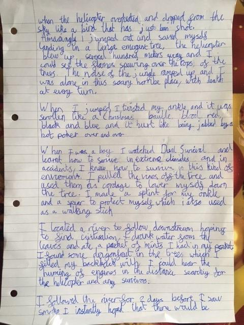 Alex's autobiography page 2