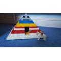 Adam's lego pyramid (Ash)