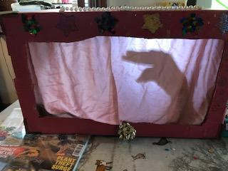 Freya G's scary shadow theatre
