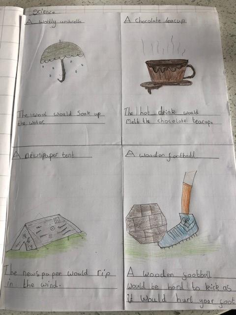 Amelie's brilliant Science learning