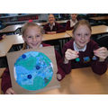 Eliza and Lily's projects on Earth (Oak)
