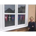 VE Day and NHS bunting (Ash)