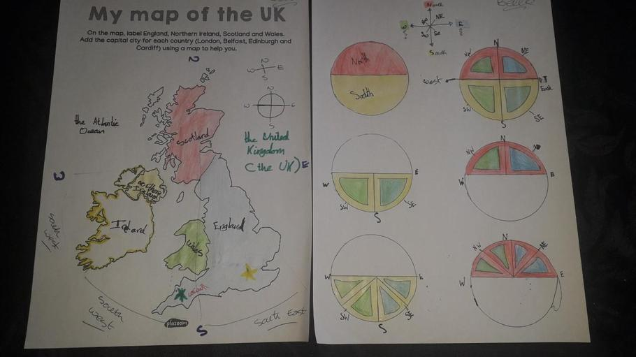 Annabella's map and compass learning