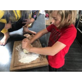 Flatbread making (Rowan)