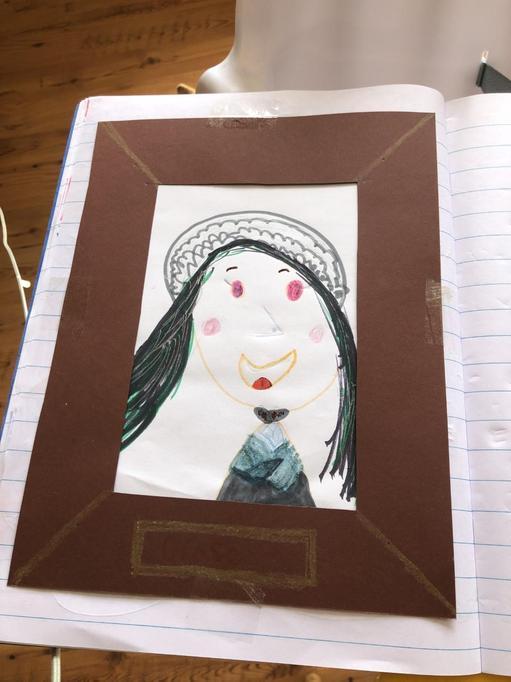 Mila's portrait of Grace Darling