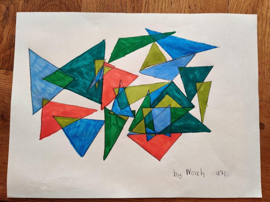 Noah's cubism
