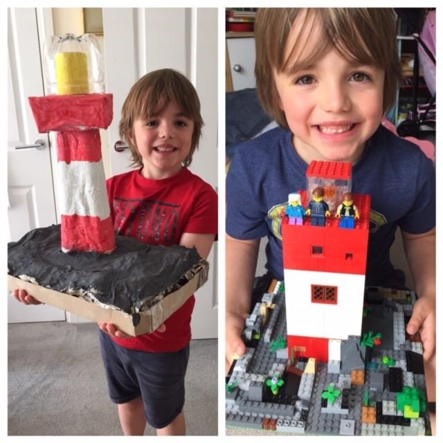 Lighthouse building!