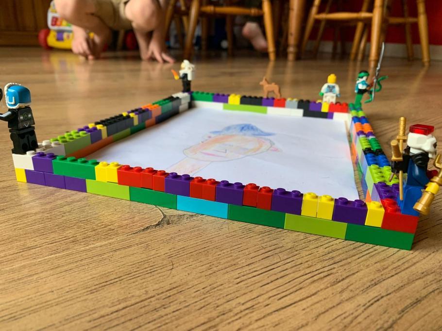 Kieran's Lego frame