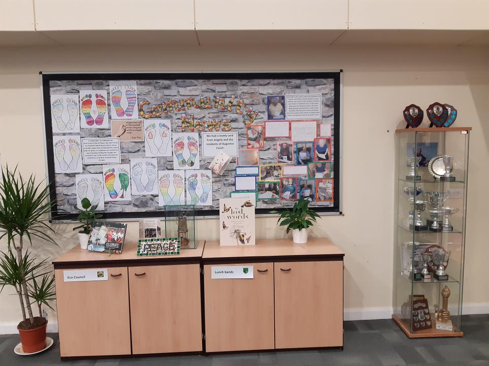 Community News & Trophy Cabinet