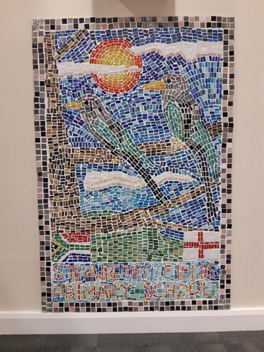 Strawberry Fields Mosaic