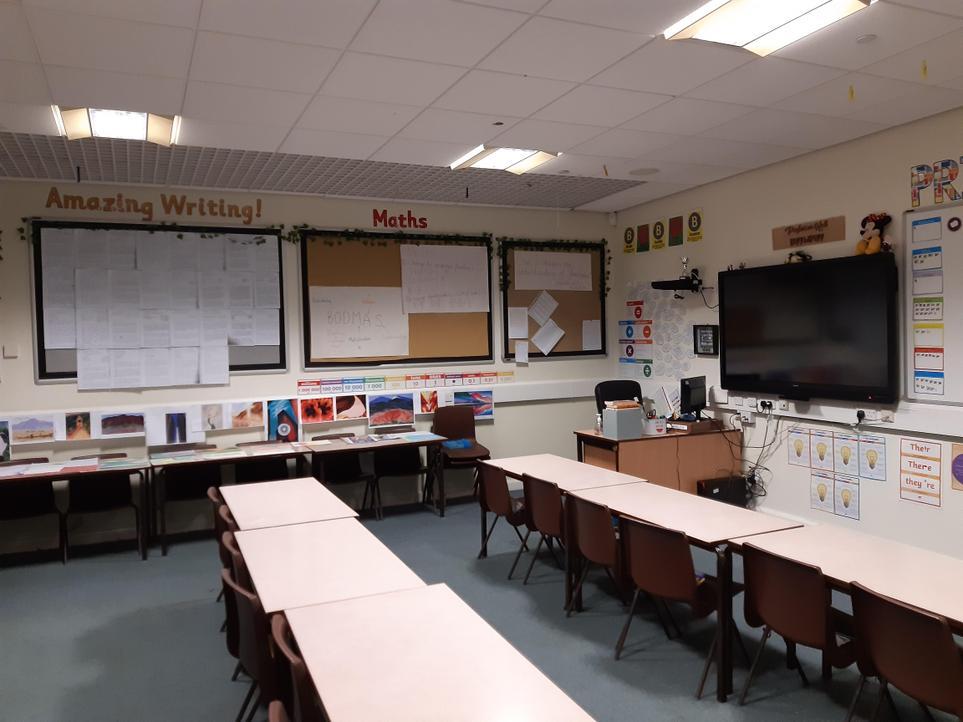 Year 6 Classroom