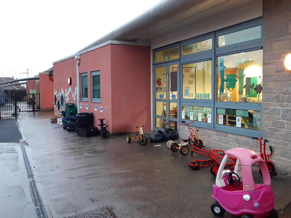 Early Years Outdoor Area