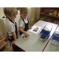 The children followed Mrs Johnsons recipe book.