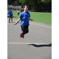 Taking on a skipping challenge