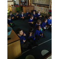 We also had some popcorn and watched the Snowman and his dog film.