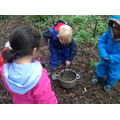 A mud soup was made and cooked over a fire!