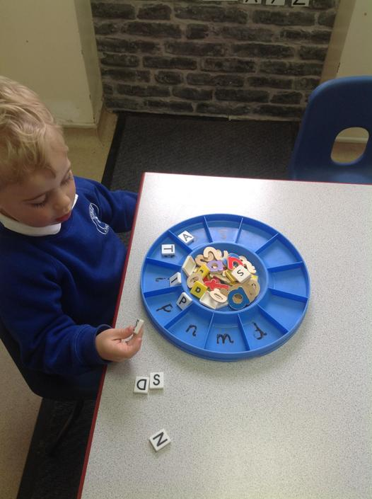 We also sorted the upper-case letters S, A, T, I, P, N, M and D.