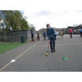Using drills to perfect our Hockey skills