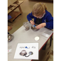 In our reading sessions we followed instructions to make Reindeer food.