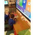 This week our class helpers were very busy doing their jobs.
