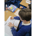Using a range of calculation skills in our festive maths challenges