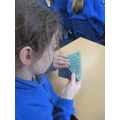 Using some simple stitching skills to decorate our Christmas cards