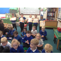 We showed our Conker rolling art work.