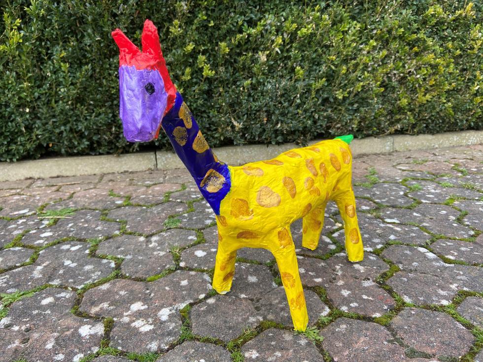 William - 'School giraffe of hope' -Beech